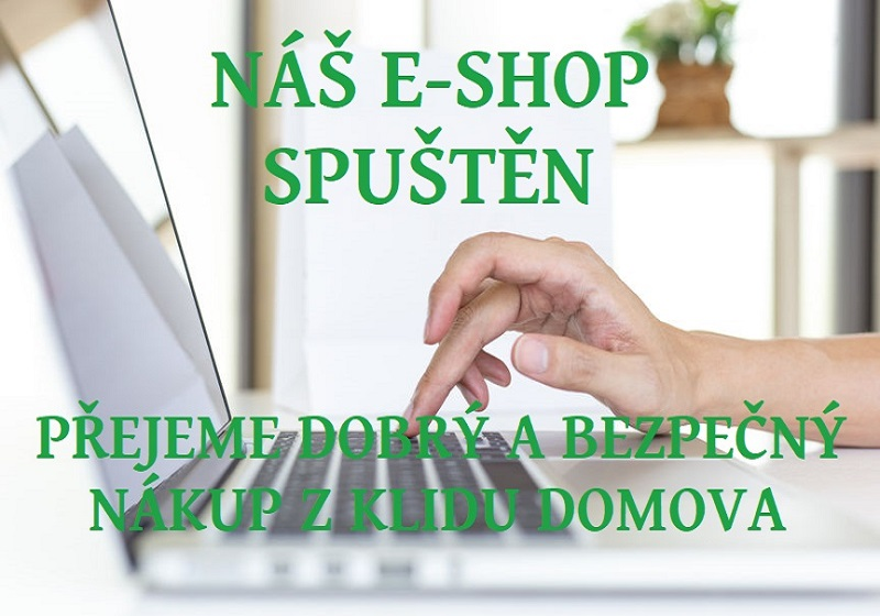 E-shop spuštěn